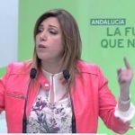 """Susana Díaz: """"Queremos una Andalucía mejor en una España y Europa mejores y nuestra prioridad es el empleo"""""""