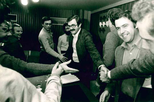 Imagen de miembros PSOE Andalucía 1979