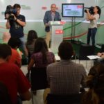"""Juan Cornejo: """"Trabajamos por la inclusión social a través del empleo en Andalucía"""""""
