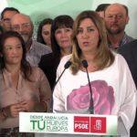 """Susana Díaz: """"El PSOE ha ganado las Elecciones Europeas en Andalucía con claridad"""""""