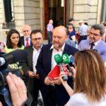 Antonio Pradas pide contundencia a la UE contra los aranceles de EEUU a la aceituna de mesa