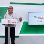 """Juan Cornejo: """"Sólo el PSOE piensa en Andalucía y, junto al Gobierno andaluz, dedicados a los problemas de la gente"""""""