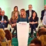 """Susana Díaz: """"Los socialistas estamos en la pelea por Andalucía, con ganas, el mejor equipo, talento y alegría"""""""