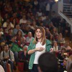 Susana Díaz promete 15 nuevos hospitales y la consulta digital para las listas de espera por los pacientes