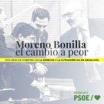 Moreno Bonilla, el cambio a peor