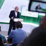 """Juan Cornejo: """"Andalucía merece un gobierno constitucionalista que defienda el legado del 28F y el 4D"""""""