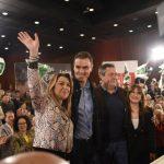 """Díaz llama a la movilización para evitar en España y los ayuntamientos el """"guirigay"""" de """"dos gobiernos"""" de """"tres derechas"""" en Andalucía"""
