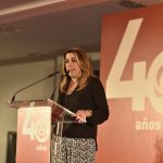 """Susana Díaz pide a candidatos y candidatas a las alcaldías """"ser valientes y rebeldes para que  no avance la ola de involución de las derechas"""""""