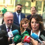 """Susana Díaz: """"La consulta de Pablo Iglesias es una farsa y refleja su absoluta deslealtad hacia el país y la izquierda"""""""
