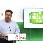 """Sánchez Haro denuncia que Moreno Bonilla incumple su compromiso de creación de empleo en Andalucía y la reduce """"a la mitad"""""""