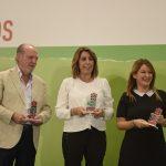 Susana Díaz destaca el trabajo, la experiencia, la entrega y la honestidad de alcaldes y alcaldesas socialistas