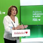"""Susana Díaz: """"Apoyamos las medidas del Gobierno andaluz, pero no damos un cheque en blanco"""""""