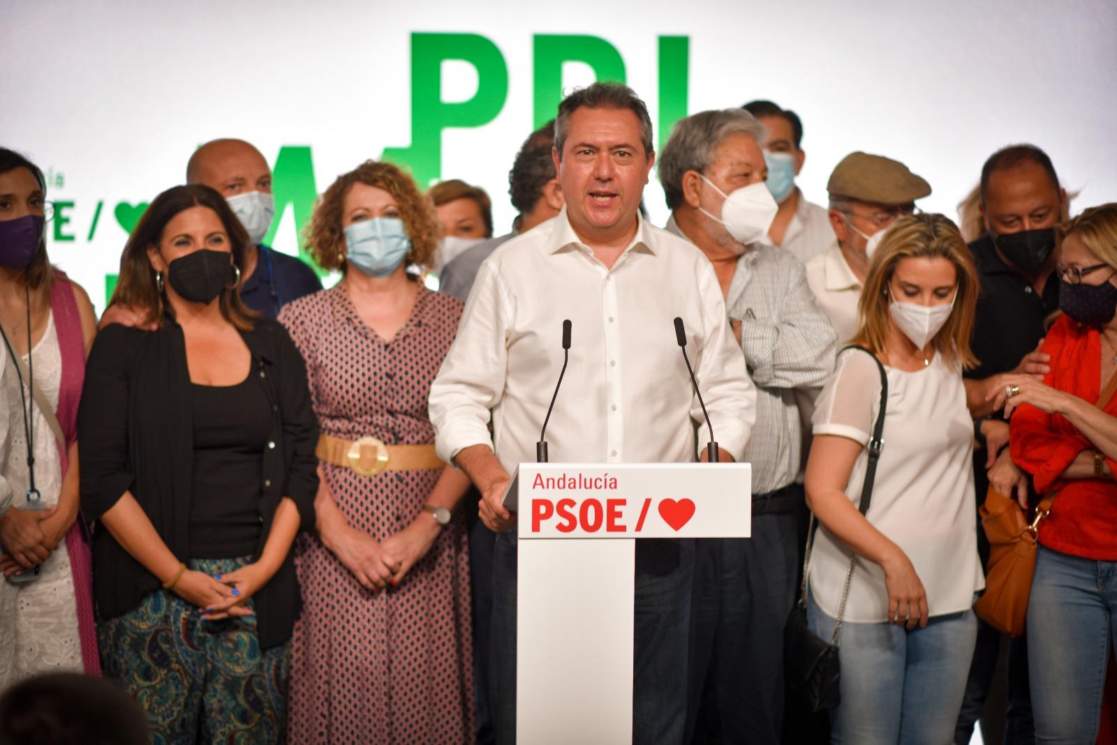 JUAN ESPADAS PSOE ANDALUCIA