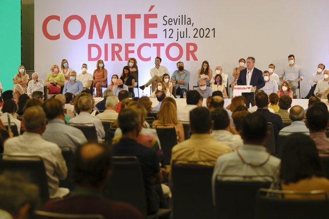 JUAN ESPADAS COMITÉ DIRECTOR PSOE ANDALUCÍA