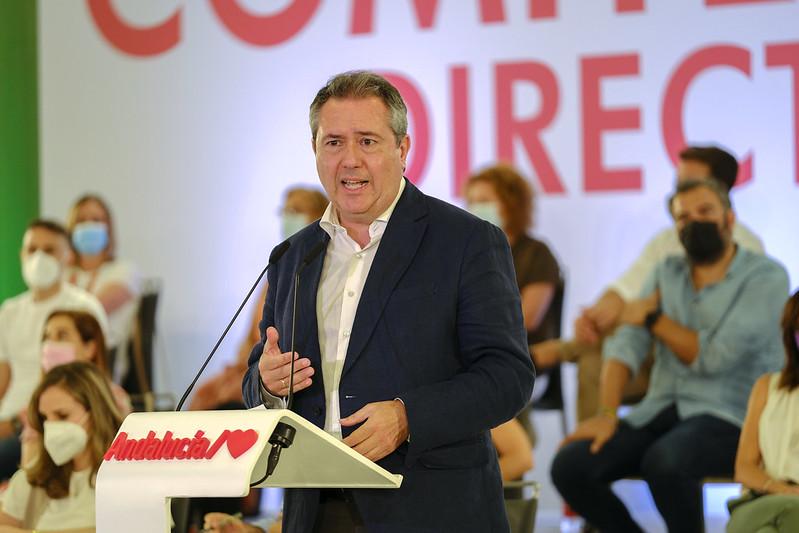 JUAN ESPADAS PSOE PRECANDIDATO SECRETARIO GENERAL