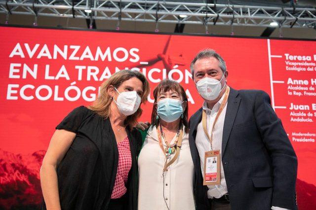Juan Espadas 40 Congreso PSOE transición ecológica